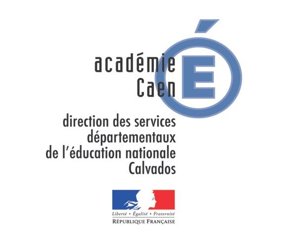 Logo DSDEN du Calvados