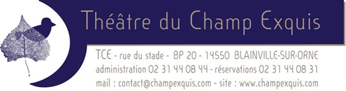 Logo Théâtre du Champ Exquis - Blainville-sur-Orne