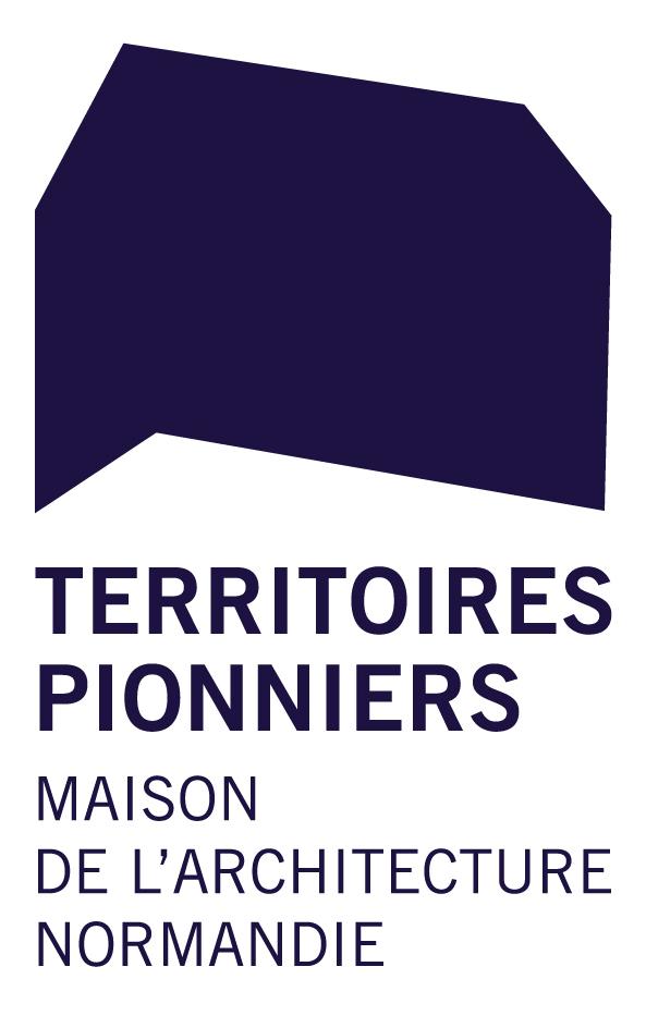 Logo Territoires pionniers | Maison de l'architecture –  Normandie