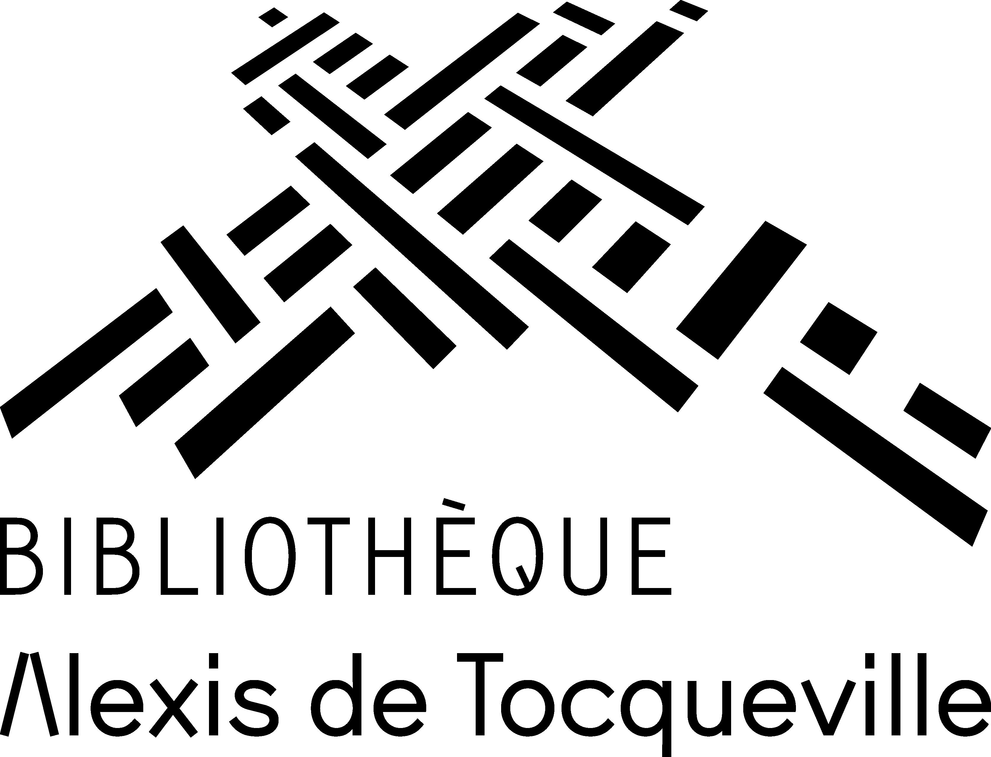 Logo Bibliothèque Alexis de Tocqueville, Caen