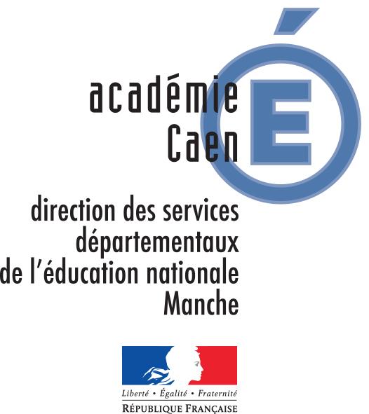 Logo DSDEN de la Manche