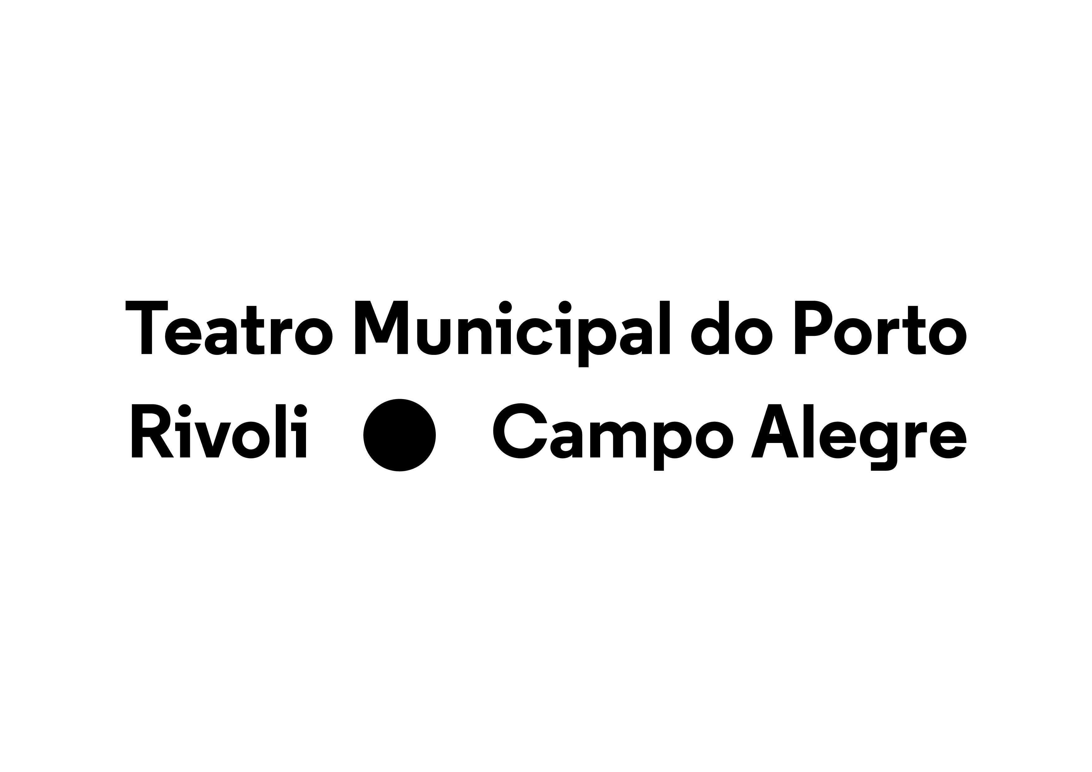 Logo Teatro Municipal do Porto Rivoli - Campo Alegre
