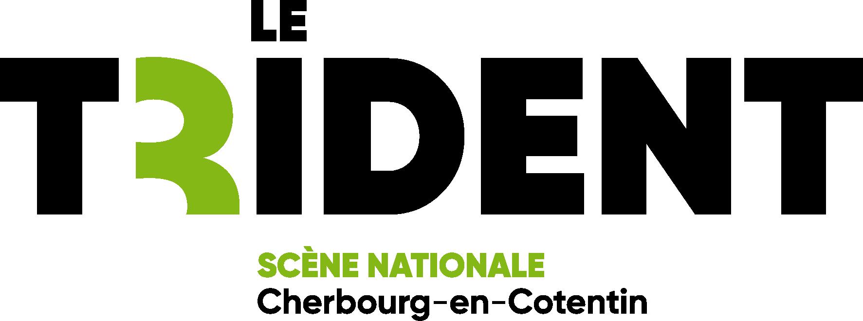 Logo Le Trident - scène nationale, Cherbourg-en-Cotentin